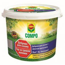Удобрение для газонов против мха компо 4.5 кг